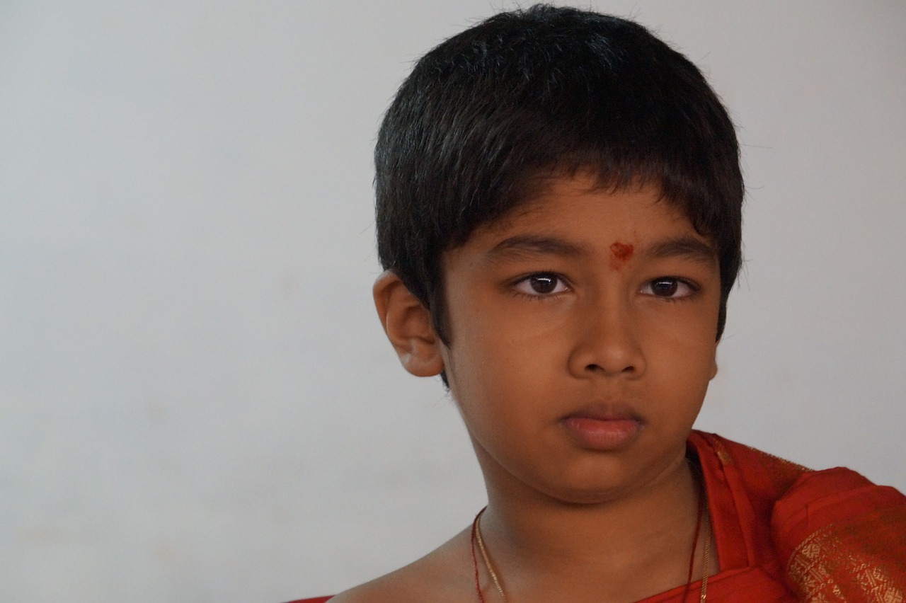 south indian boy traditional dress free photo