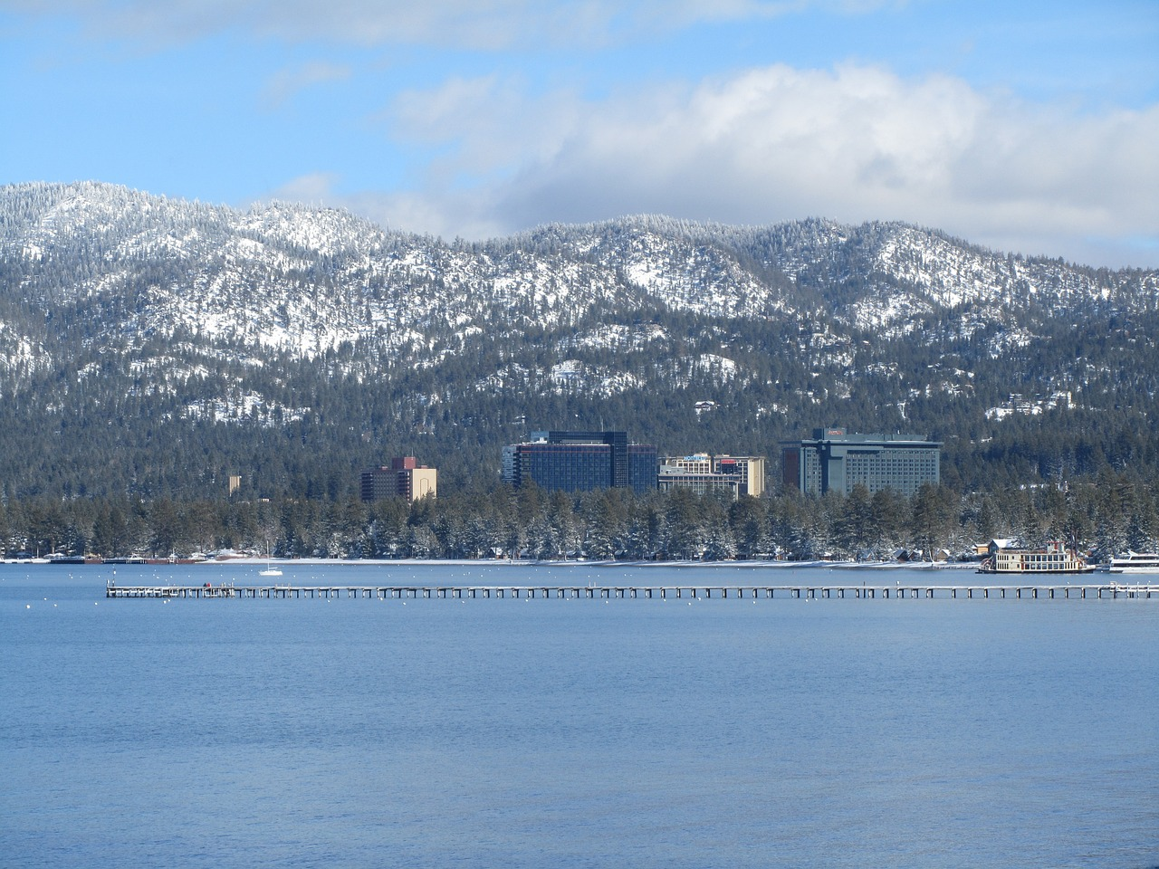 South Lake Tahoe Winter Mountains