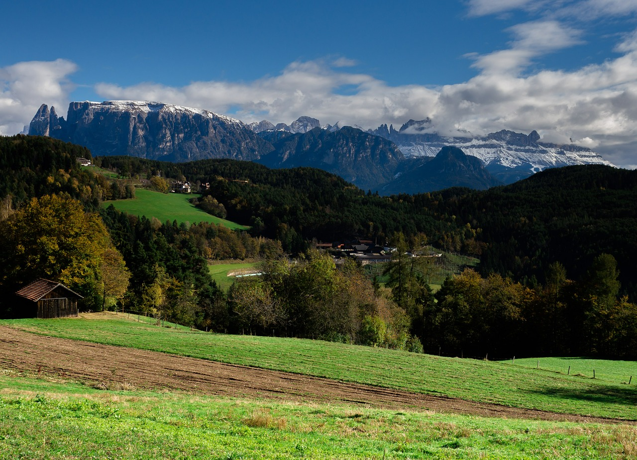 south tyrol italy mountains free photo