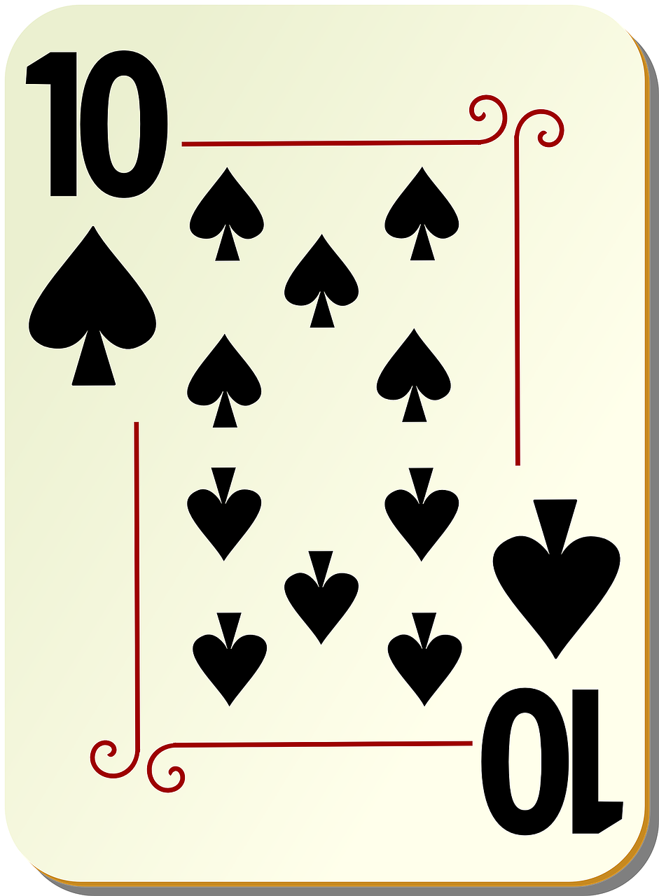 spades ten 10 free photo
