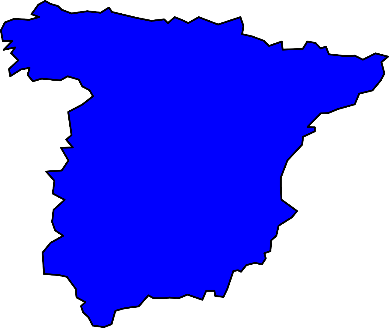spain geography country free photo
