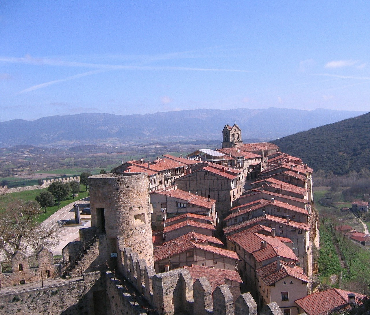 spain mountains castle free photo