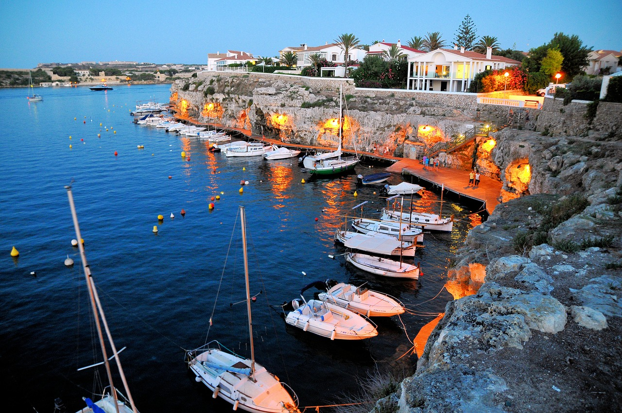 spain balearic islands mediterranean free photo