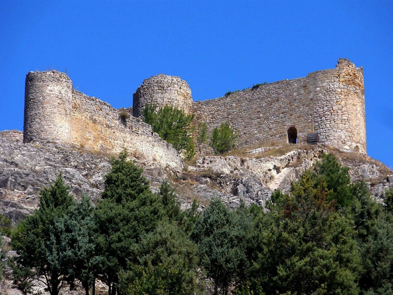 spain castle fortress free photo