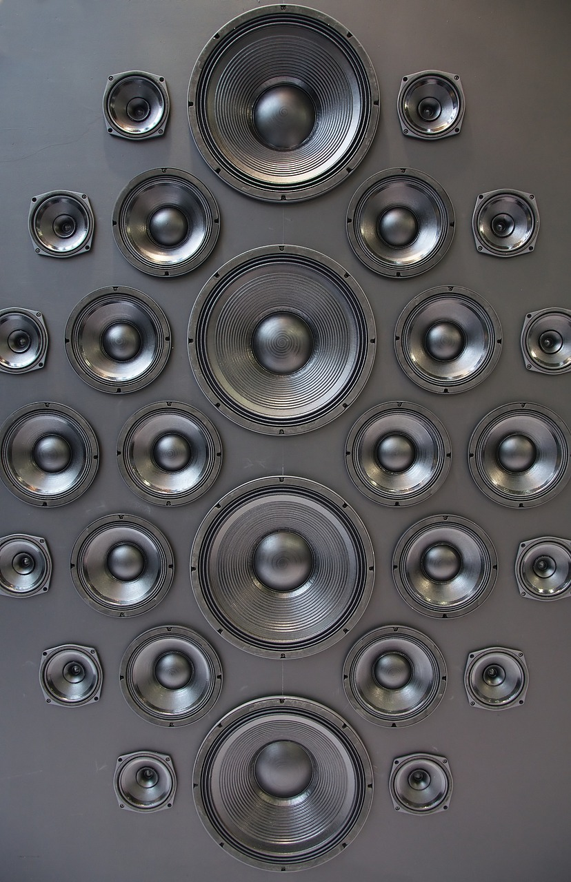 speakers music box free photo