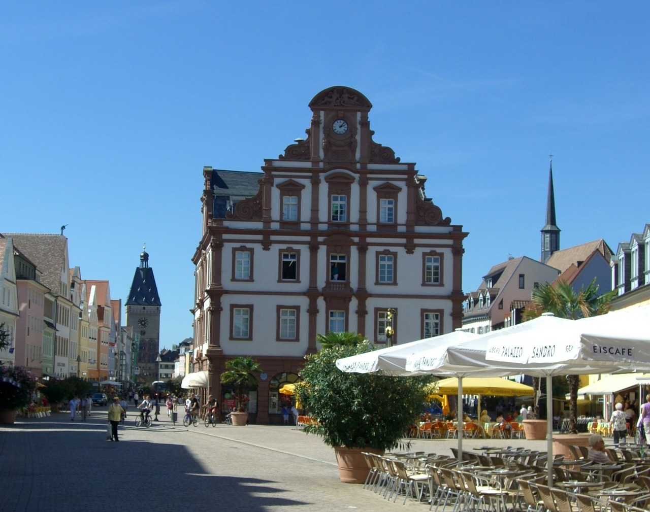 speyer maximilianstrasse old gate free photo