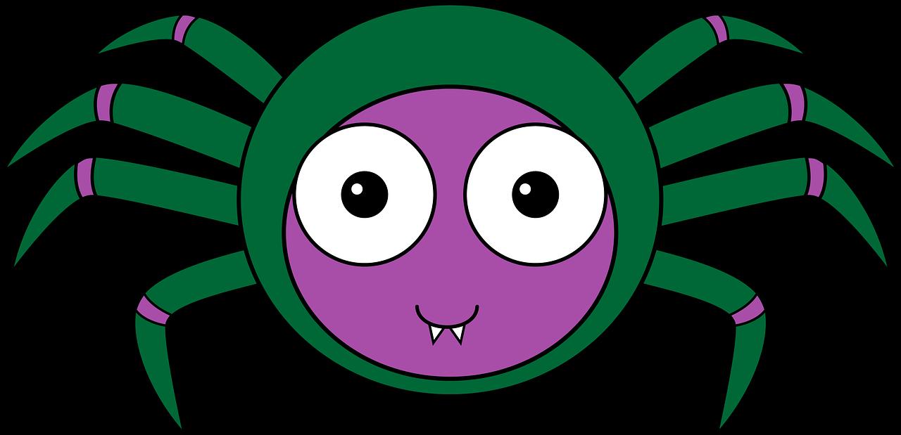 Картинка паука для маски