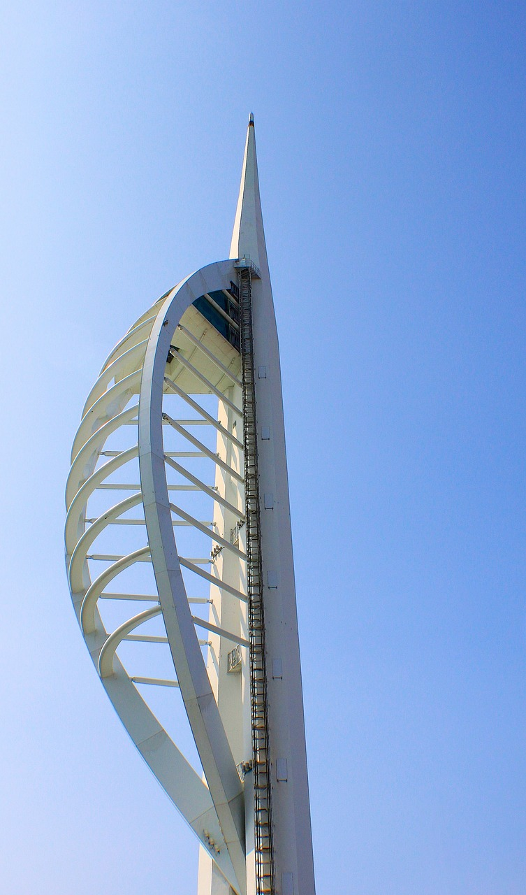 spinnaker tower high free photo