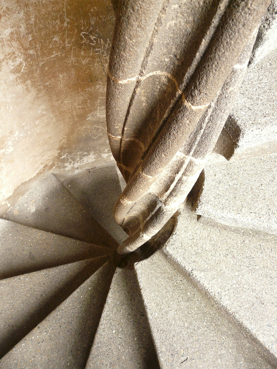 spiral staircase stairs staircase finish free photo