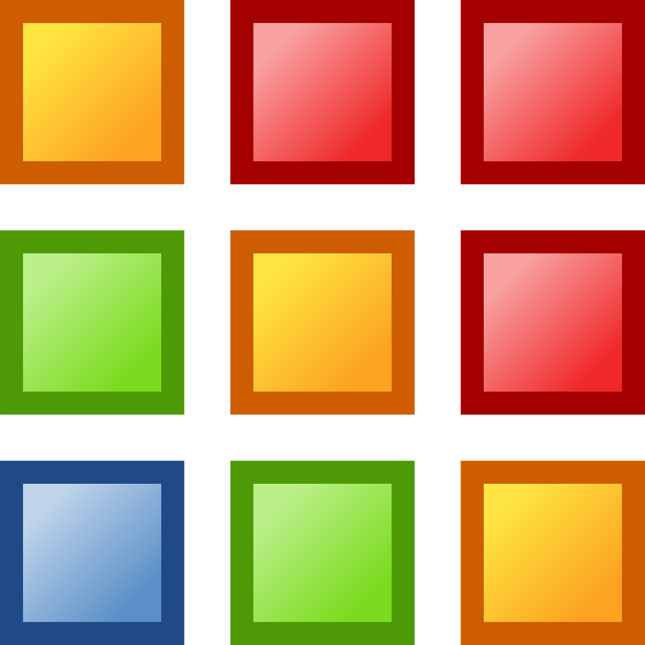 squares shapes colorful free photo