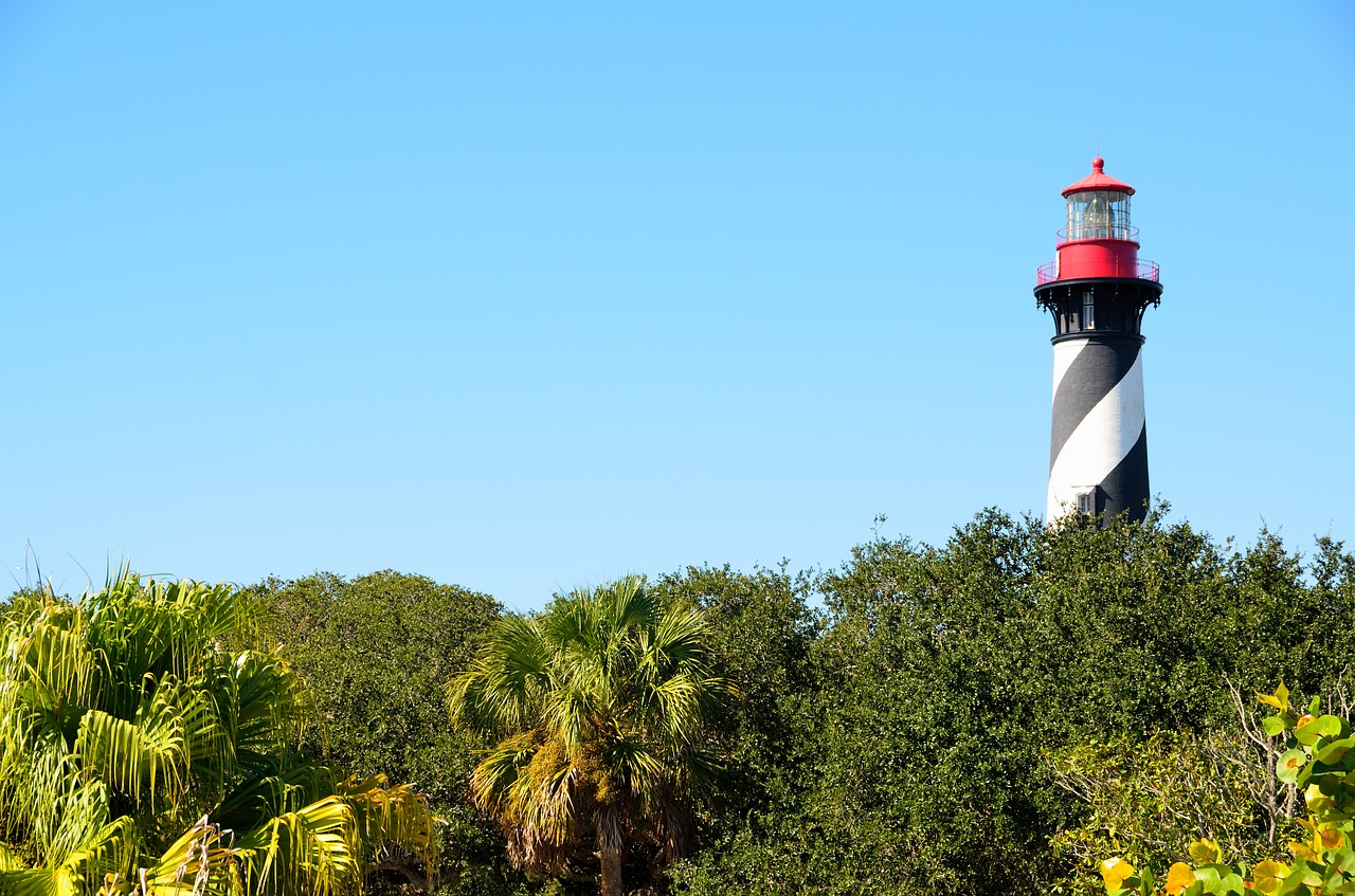 st augustine florida lighthouse free photo