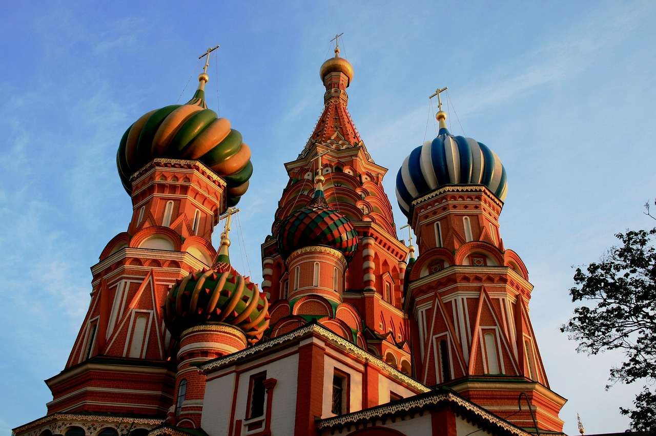 st basil's cathedral ornate decorative free photo