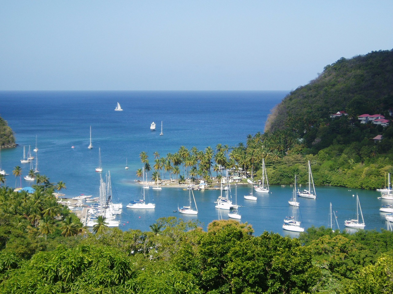 st lucia caribbean dream free photo