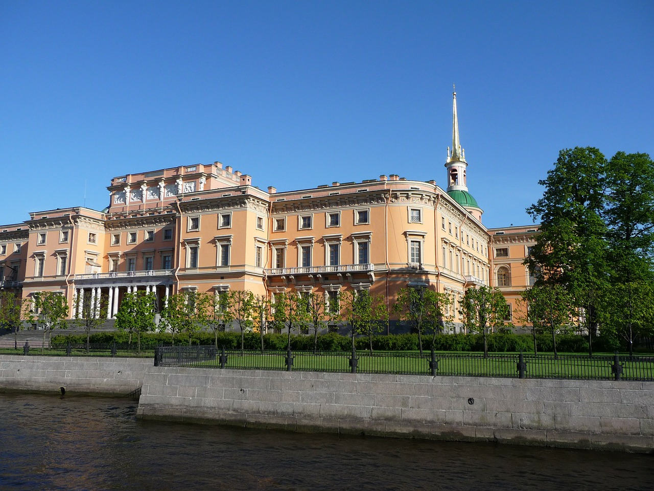 st petersburg famous sightseeing mikhailovsky palace free photo