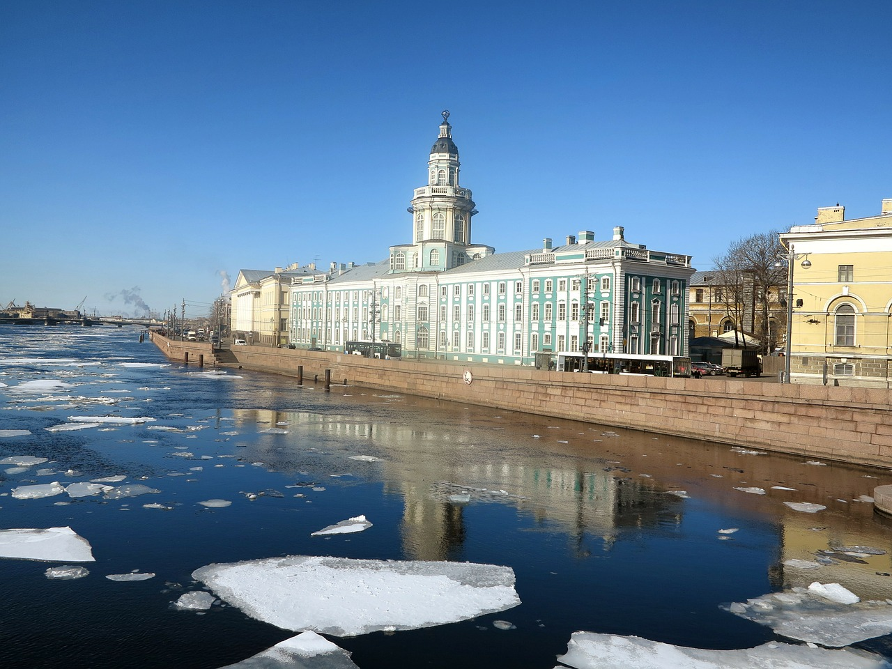 st petersburg russia river free photo