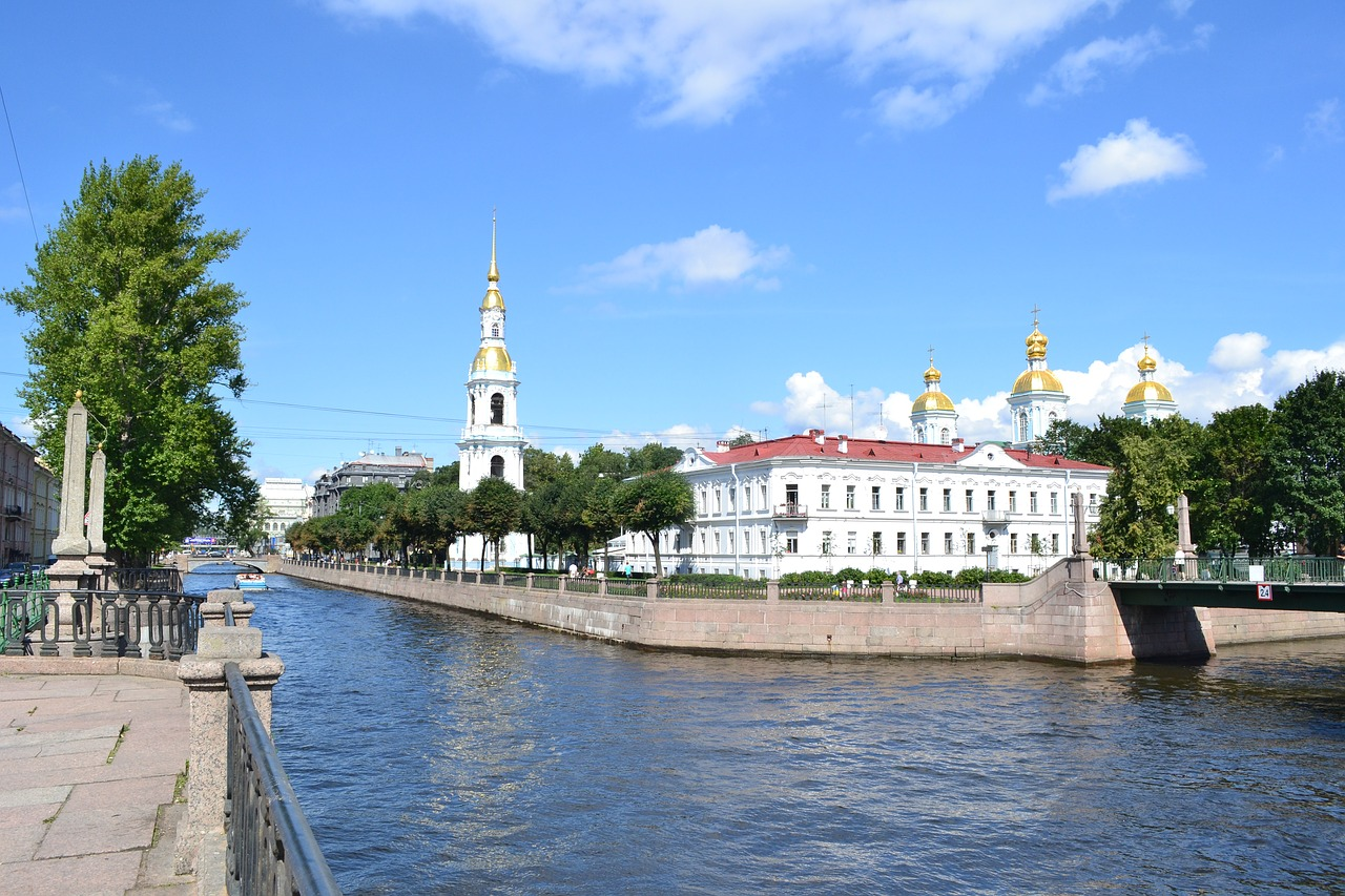 st petersburg cathedral st nicolas cathedral free photo