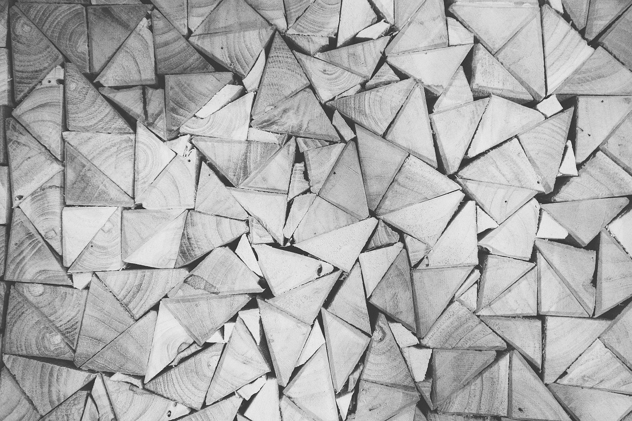stack,wood,pile,triangular,pattern,stacked,lumber,storage,warehouse,triangles,patterns,black and white,free pictures, free photos, free images, royalty free, free illustrations, public domain