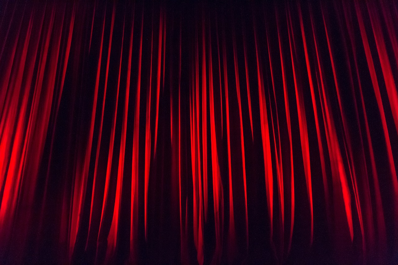 stage curtain curtain stage free photo