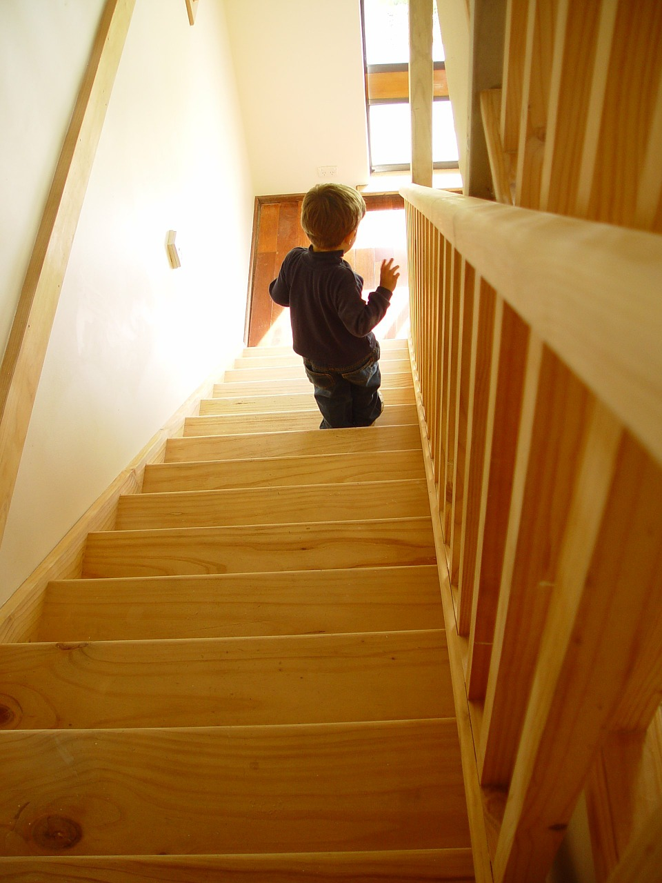 stair climb child learn to walk free picture