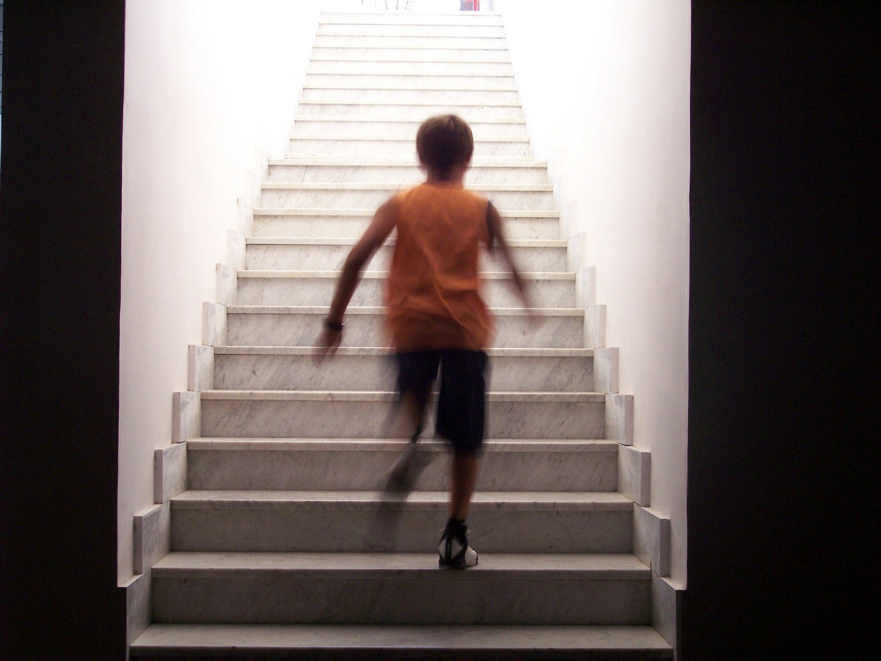 stairs staircase race free photo