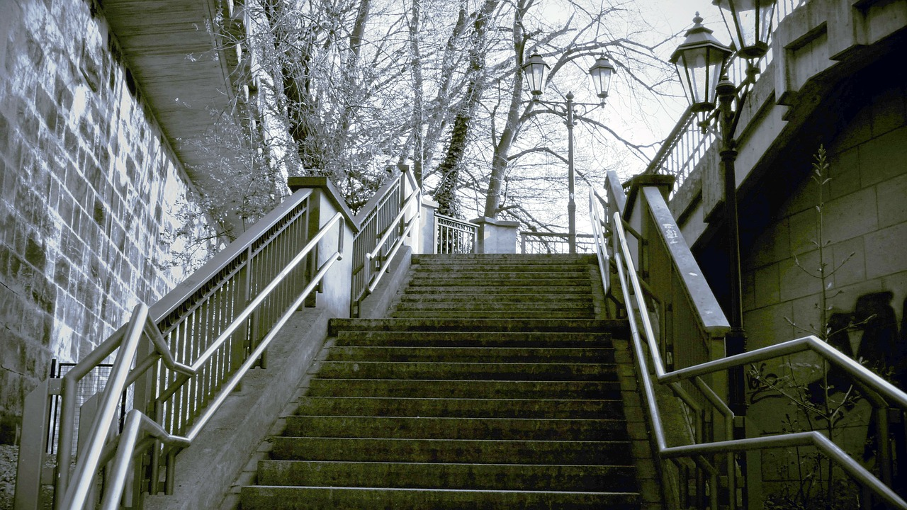 stairs gradually staircase free photo