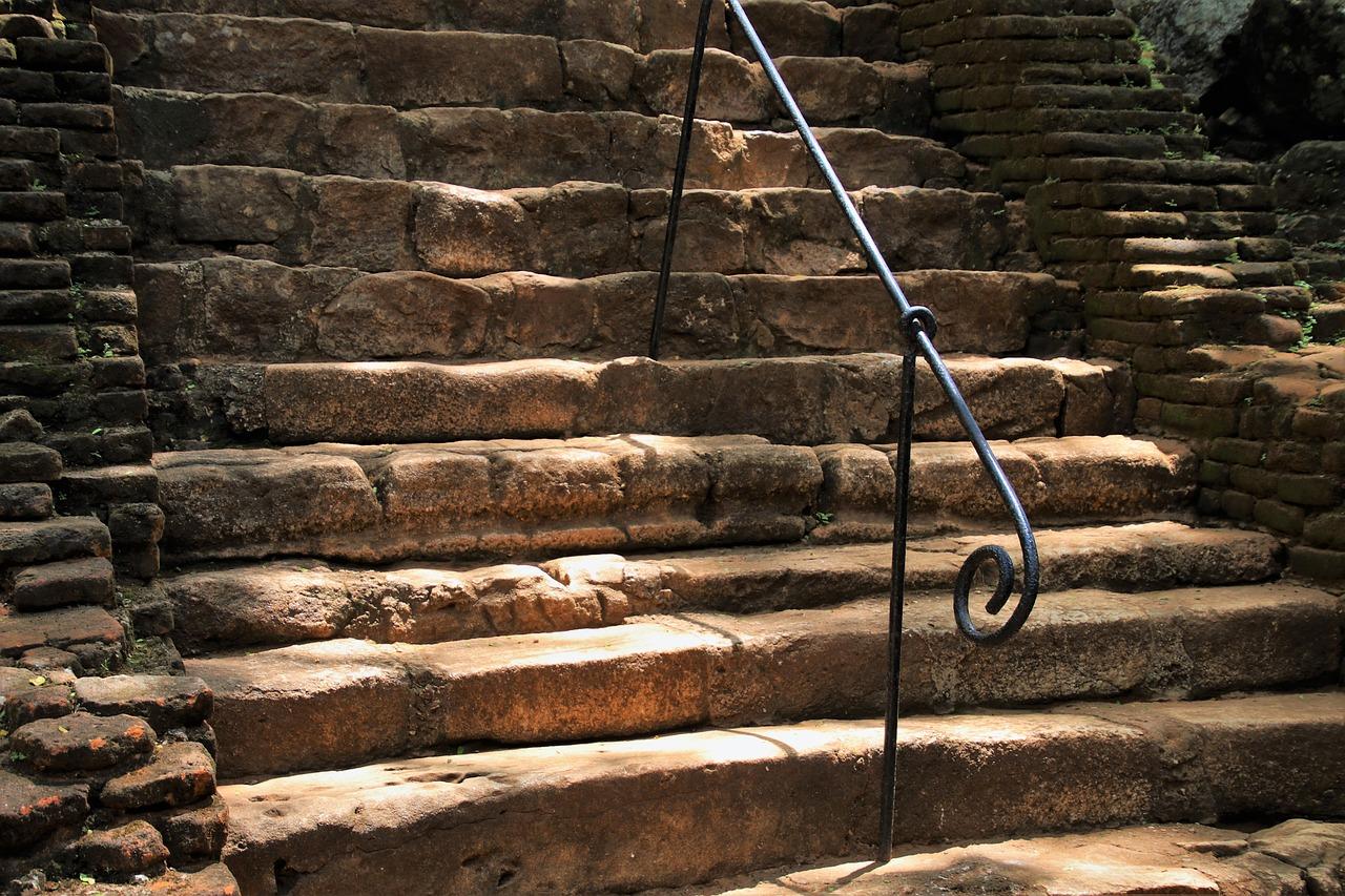 Каменные лестницы в картинках