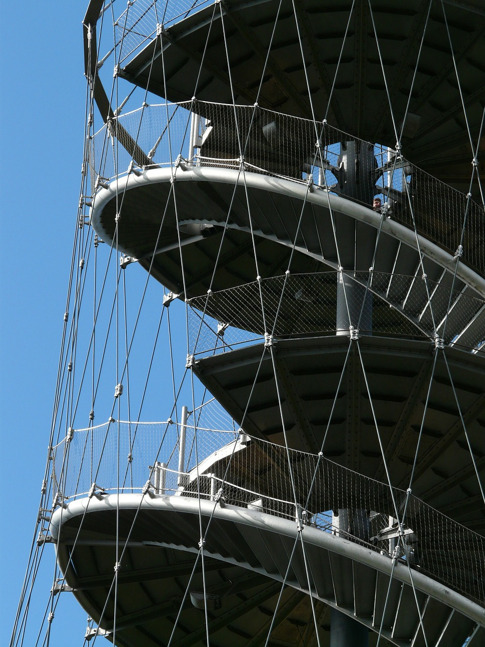 stairs spiral staircase metal free photo
