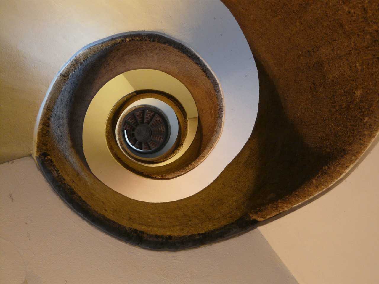 stairs spiral staircase emergence free photo
