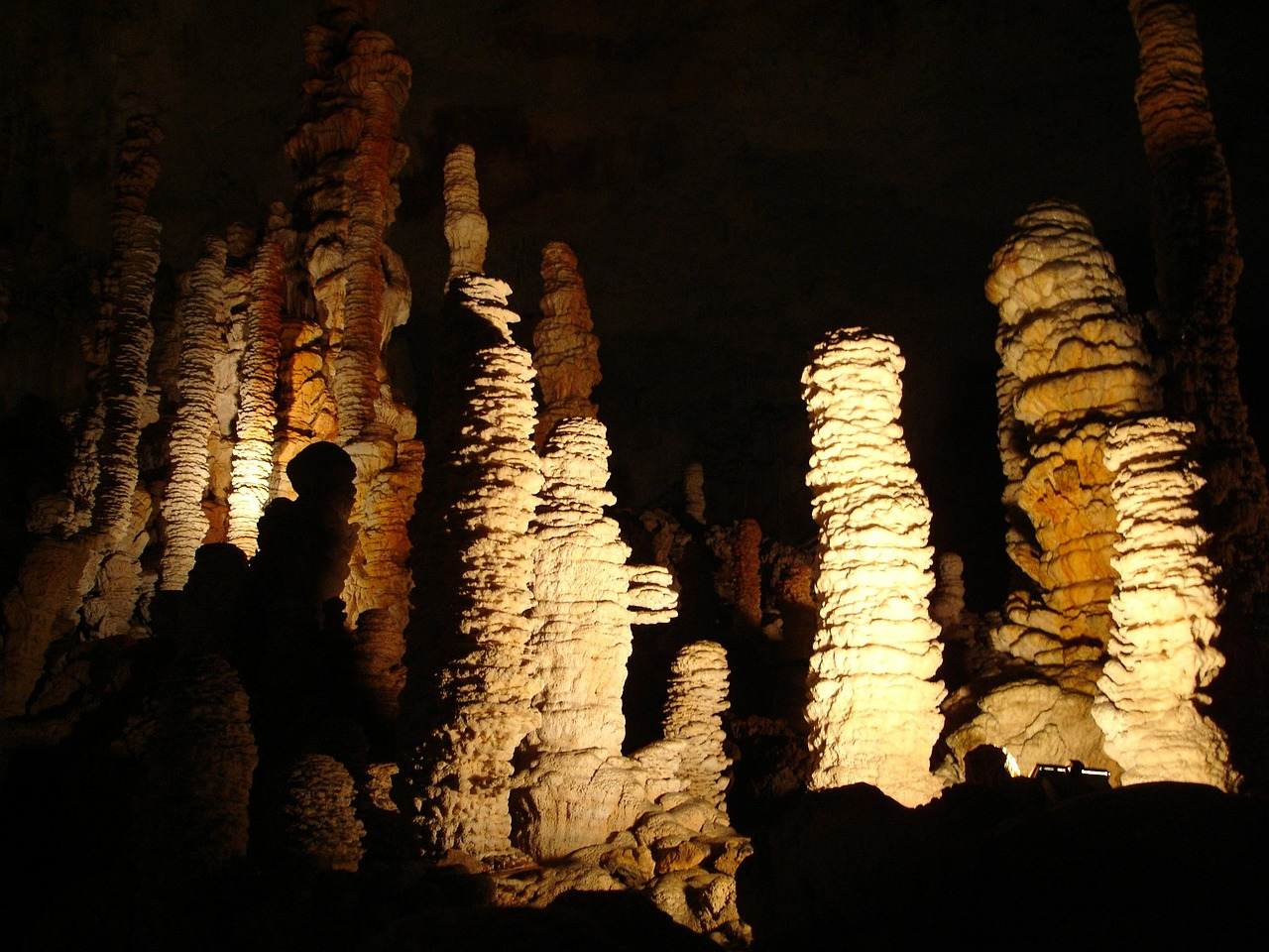 stalactite speleothems aven d'orgnac free photo
