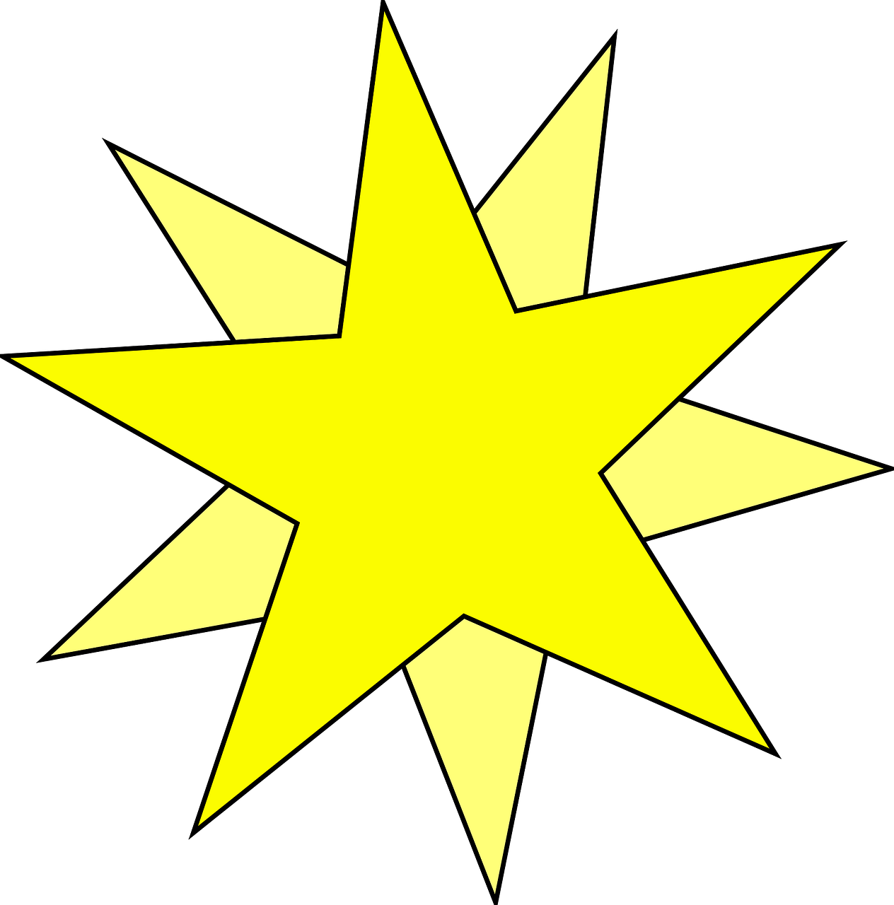 star,design,double,inlaid,pattern,yellow,ornamental,free vector graphics,free pictures, free photos, free images, royalty free, free illustrations, public domain