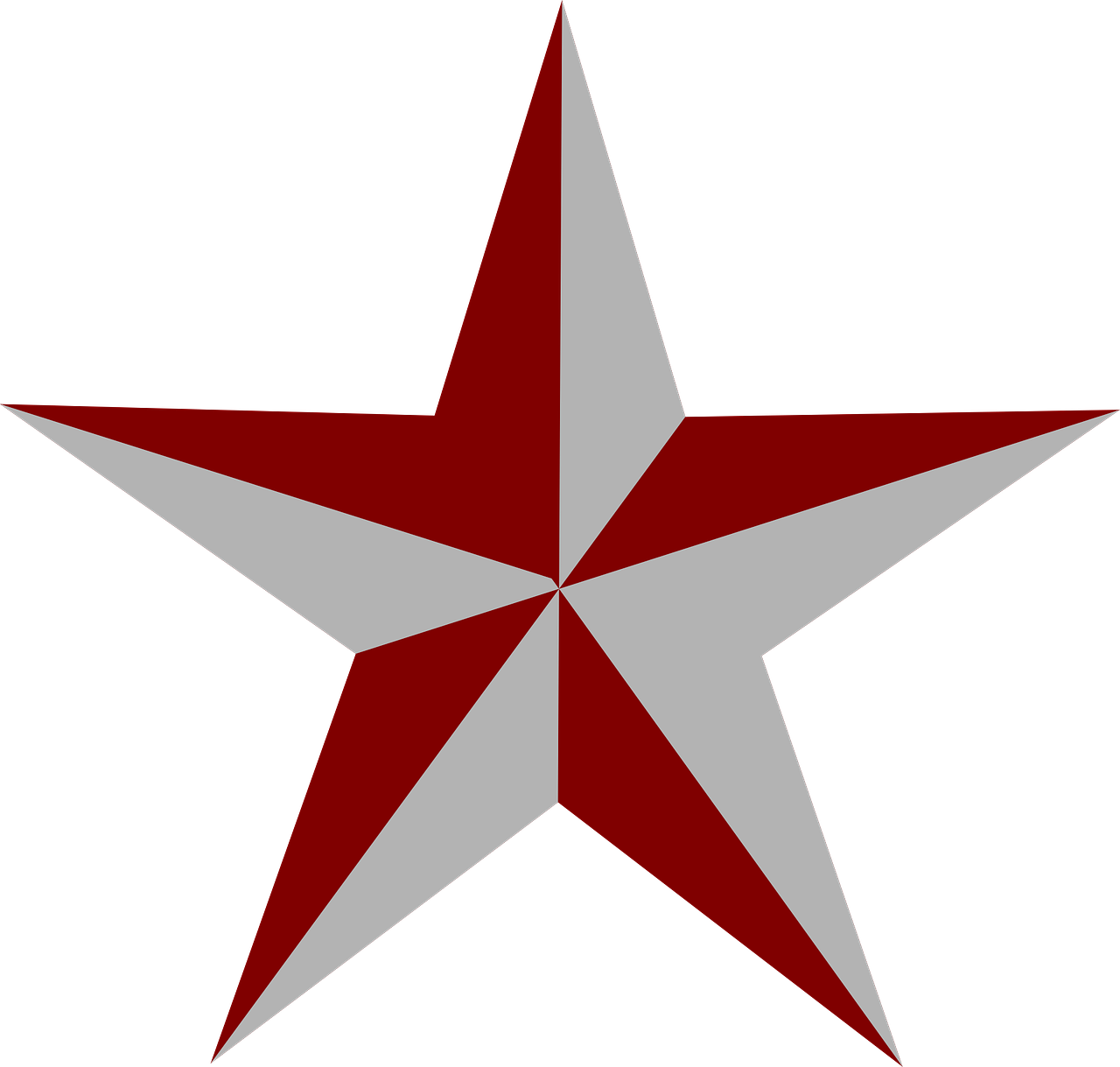 star red grey free photo