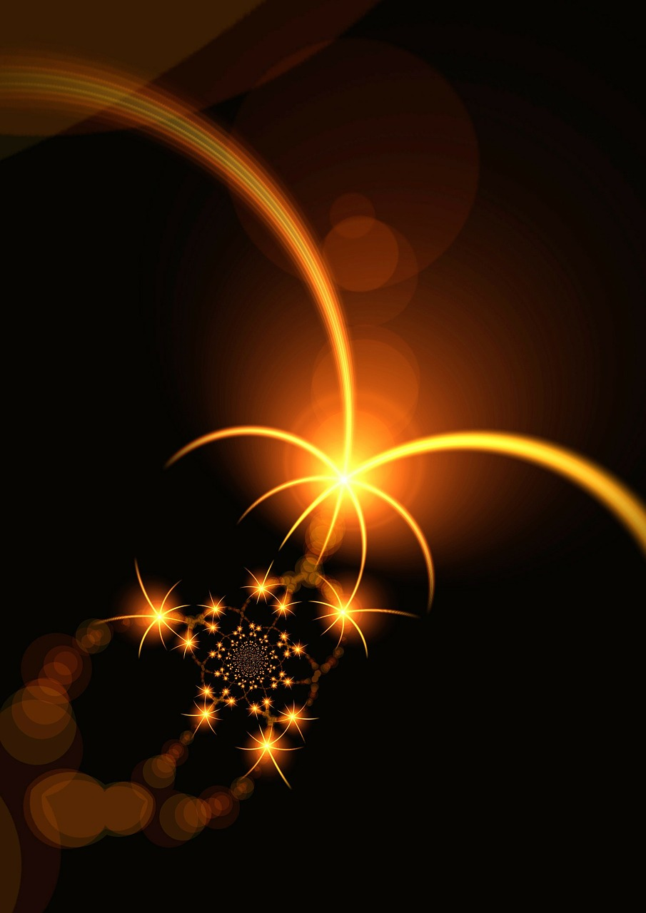 star light fractal free photo