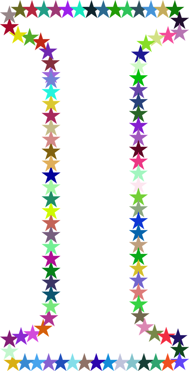 stars colorful prismatic free photo