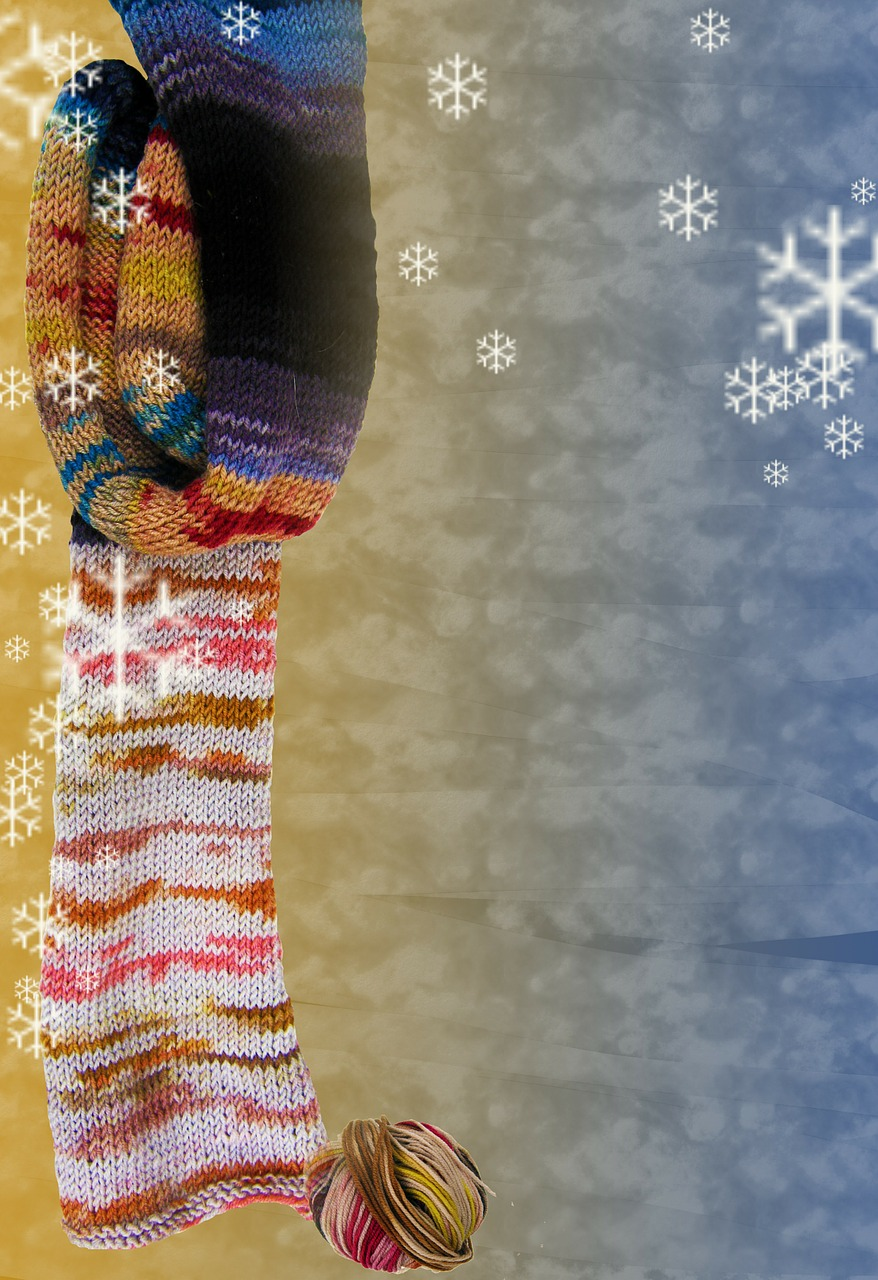 stationery background winter free photo