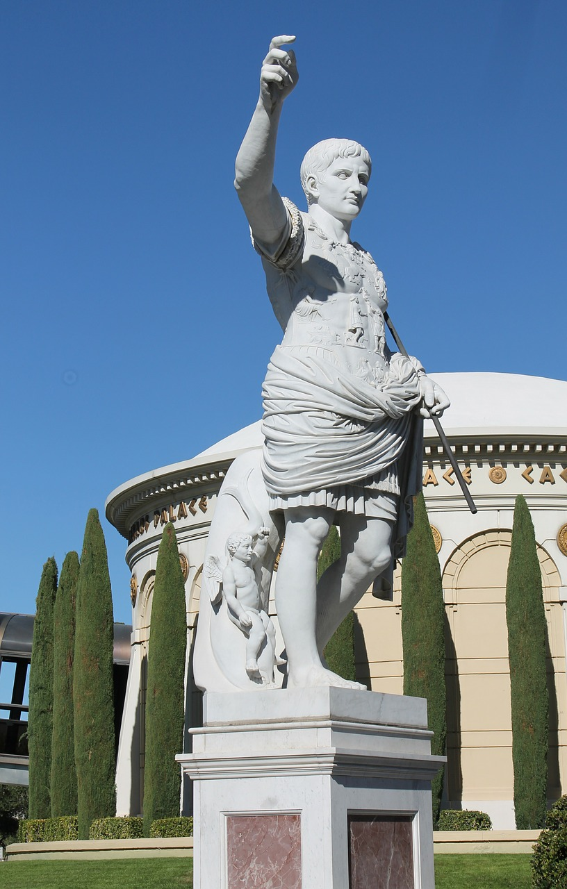 statue stone ceasar free photo