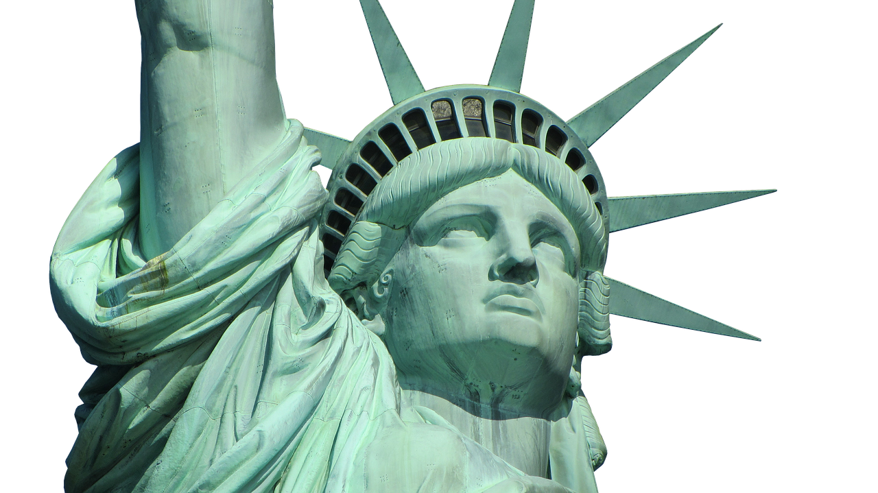 statue of liberty usa monument free photo