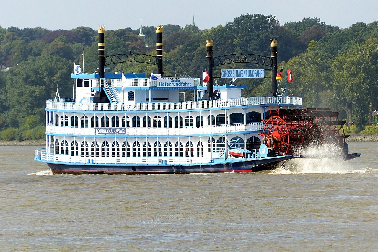 steamer paddle steamer ship free photo