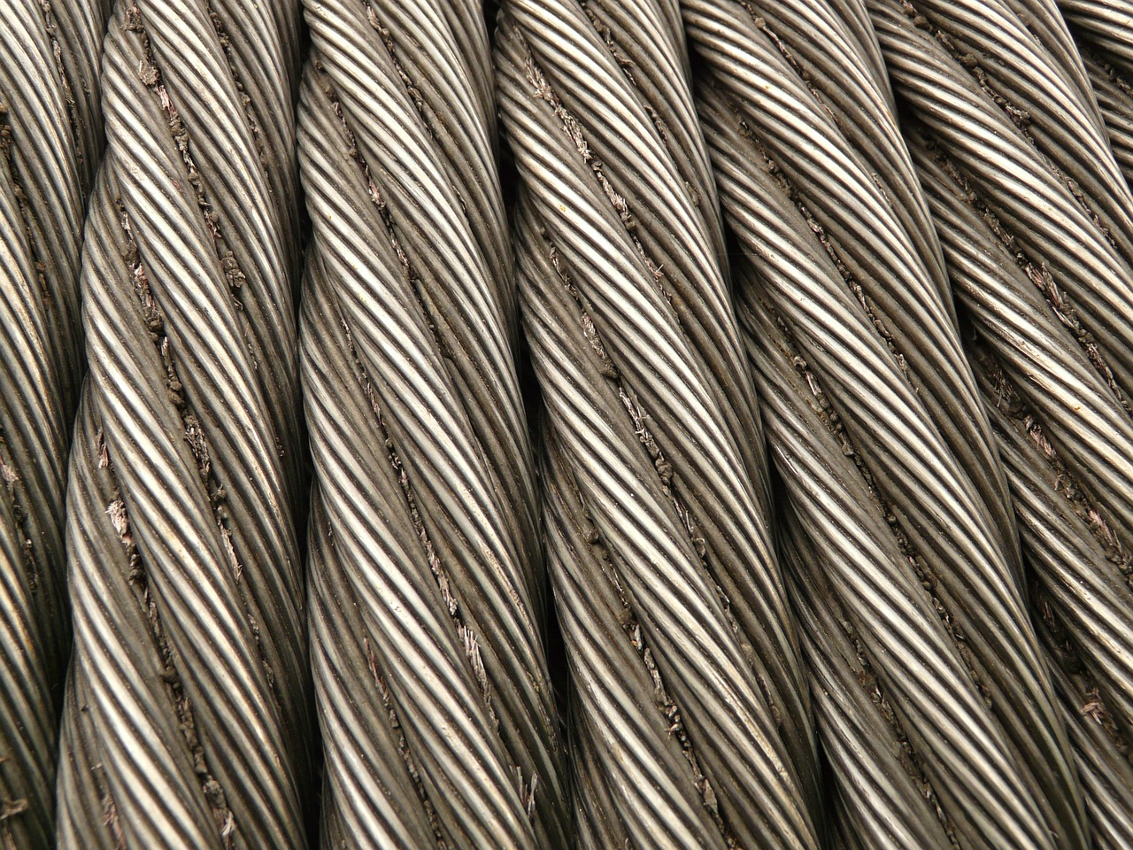 steel cable rope metal free photo