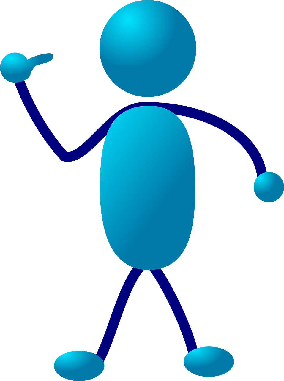 stickman stick figure cartoon free photo