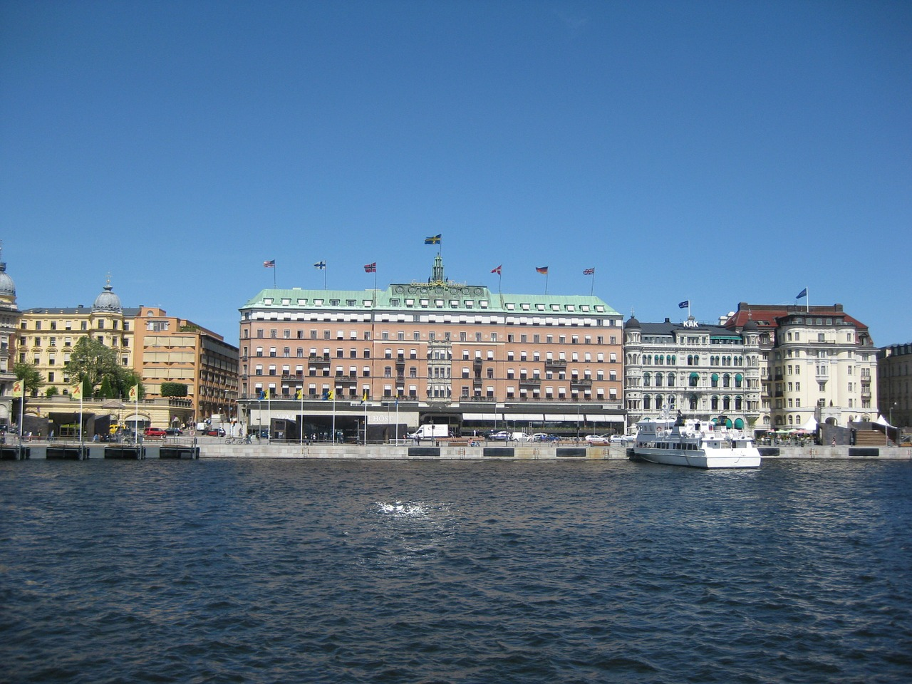 stockholm old town summer free photo