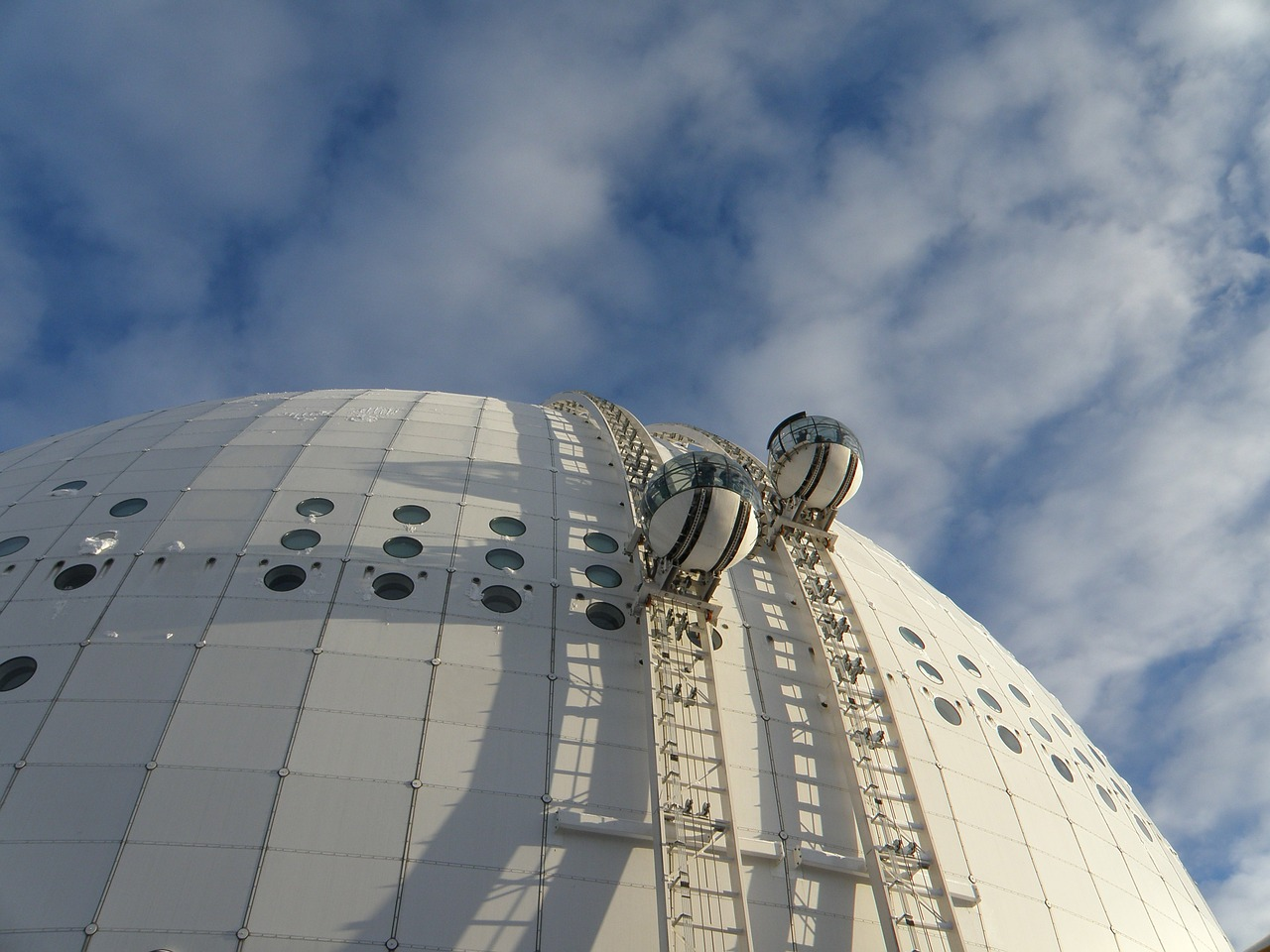 stockholm ericsson globe ball free picture