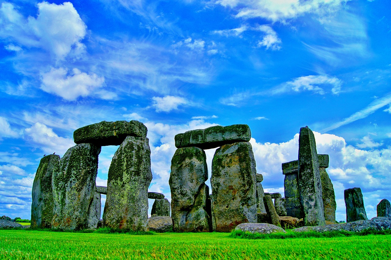 stonehenge england monument free photo