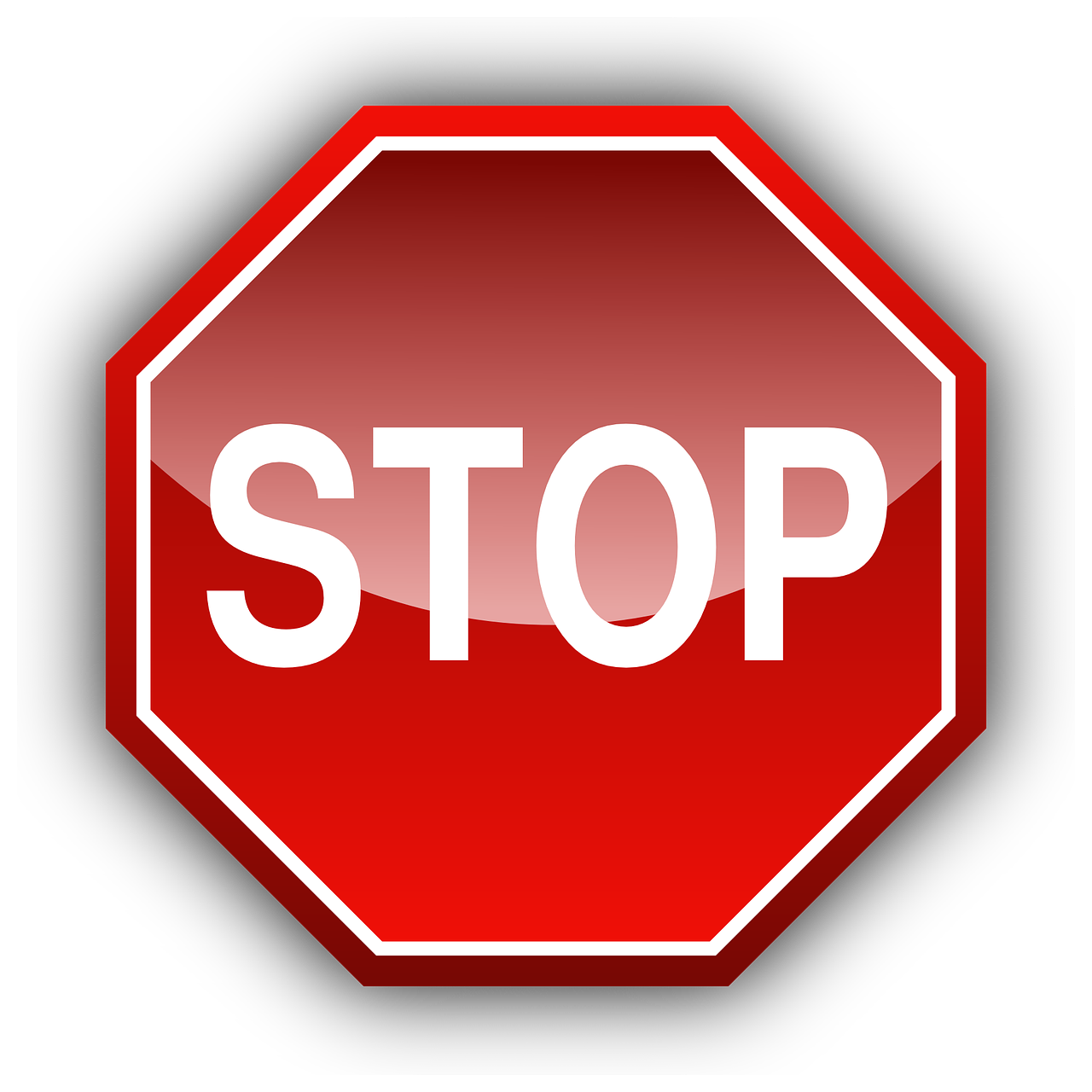 stop sign traffic sign free photo