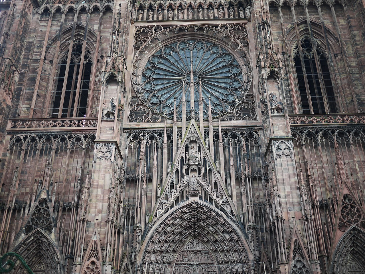 strasbourg france cathedral free photo