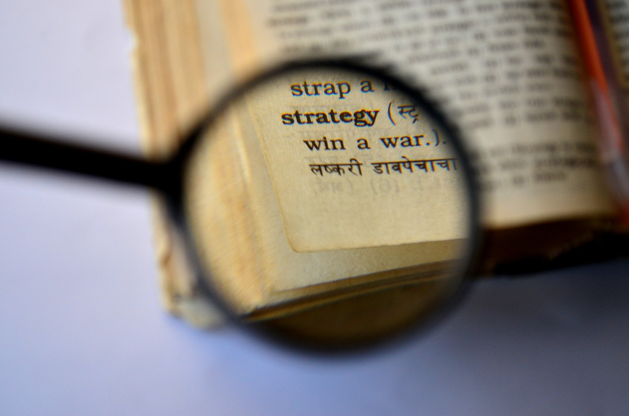 strategy dictionary magnifier free photo