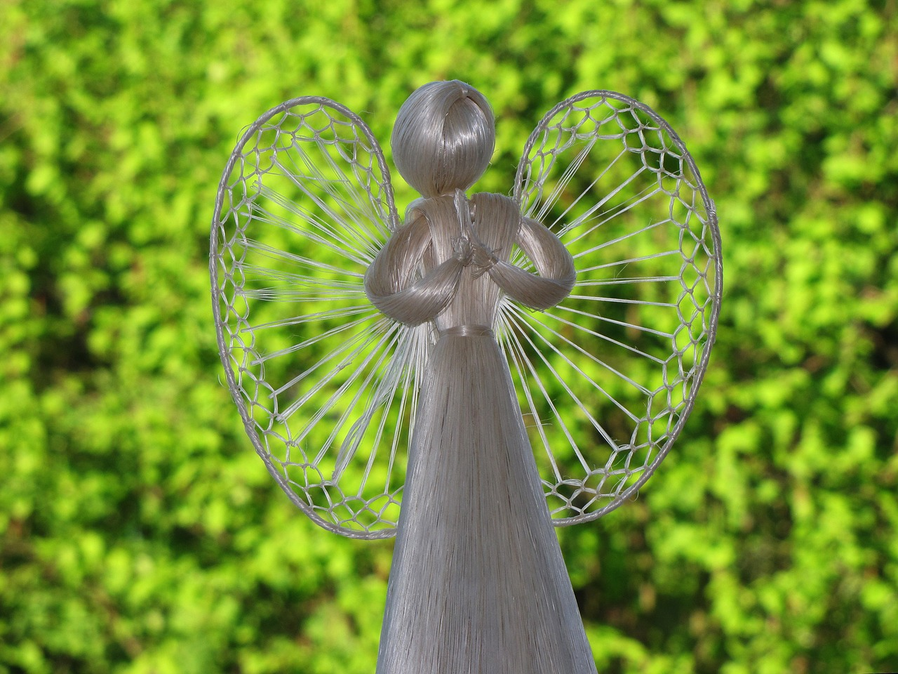 straw angel angel natural angels free photo