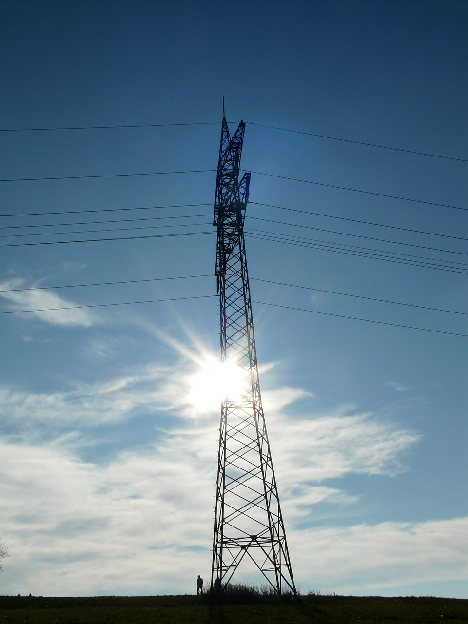strommast pylon current free photo