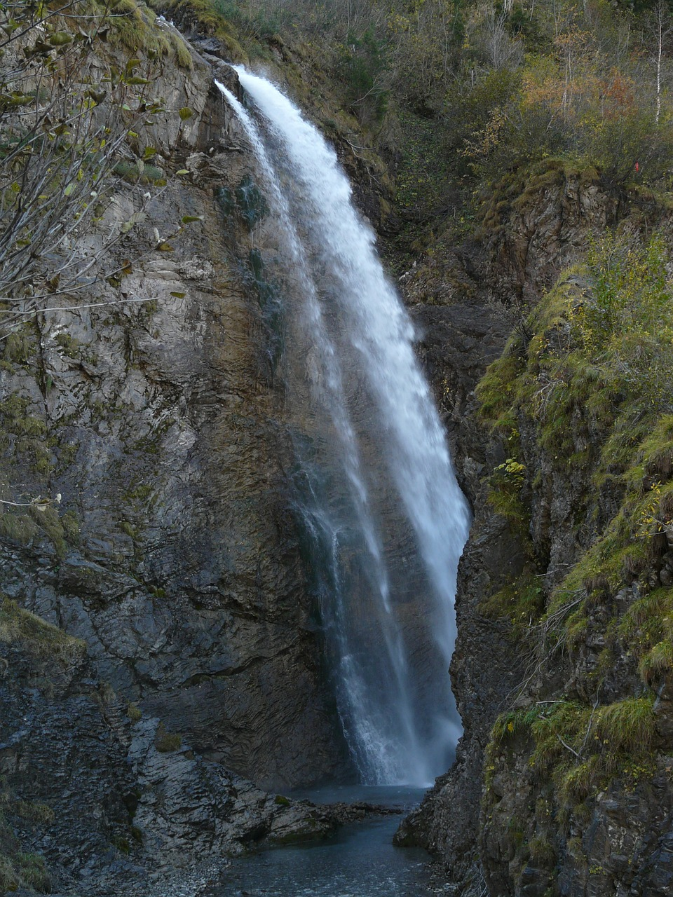 stuibenfall oytal waterfall free photo