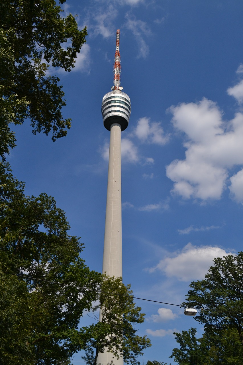 stuttgart  tv tower  high free photo
