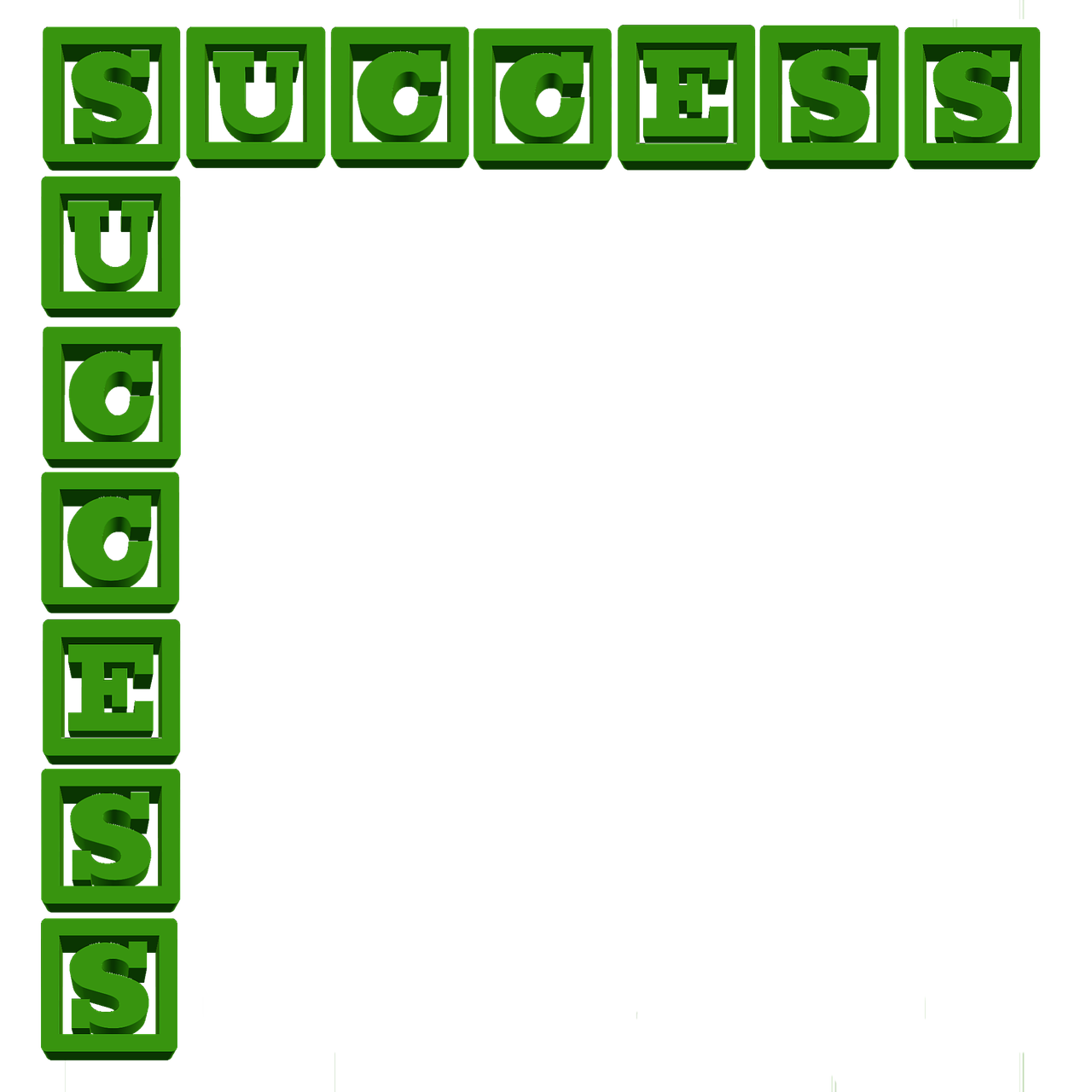success letters message free photo
